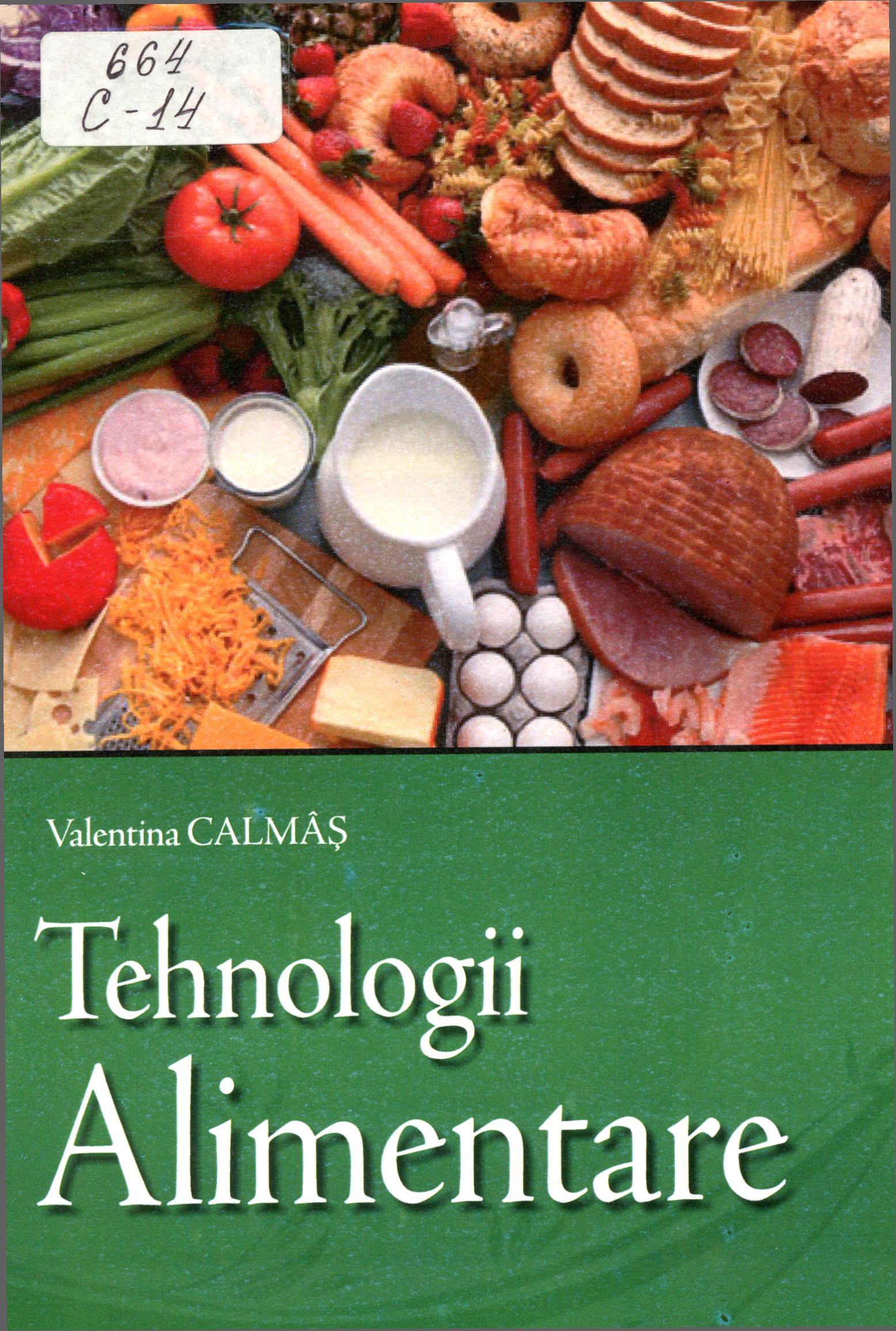 Tehnologii alimentare (Curs universitar)