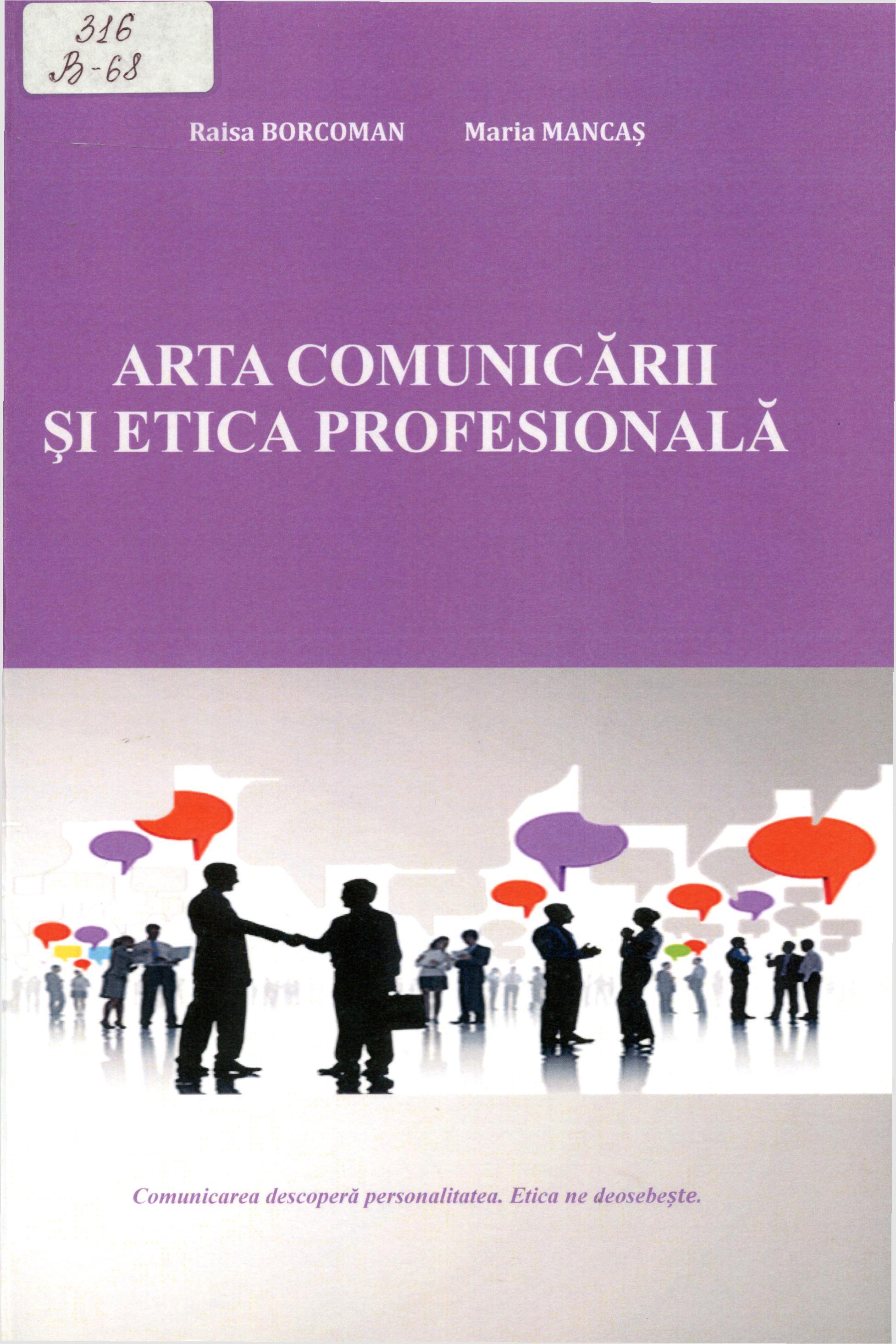 Arta comunicării și etica profesională