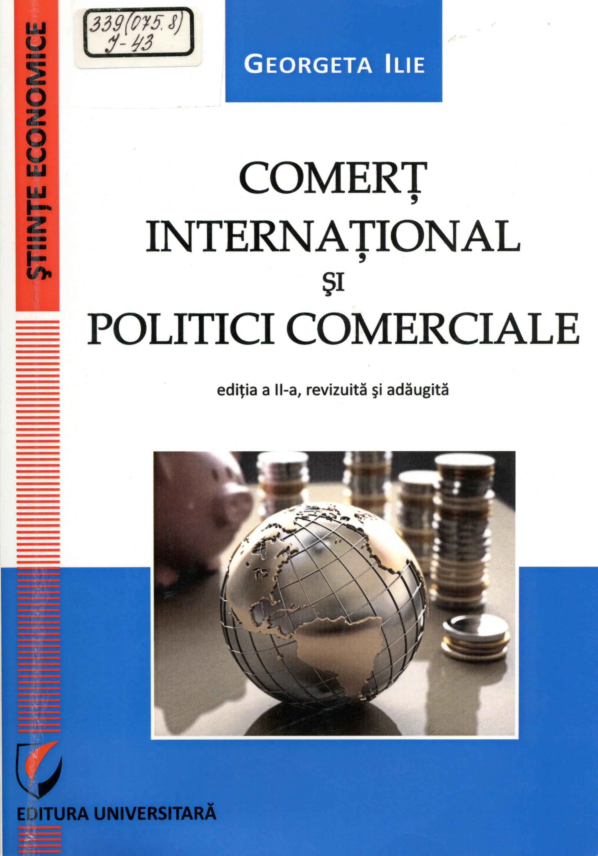 Comerț internațional și politici comerciale