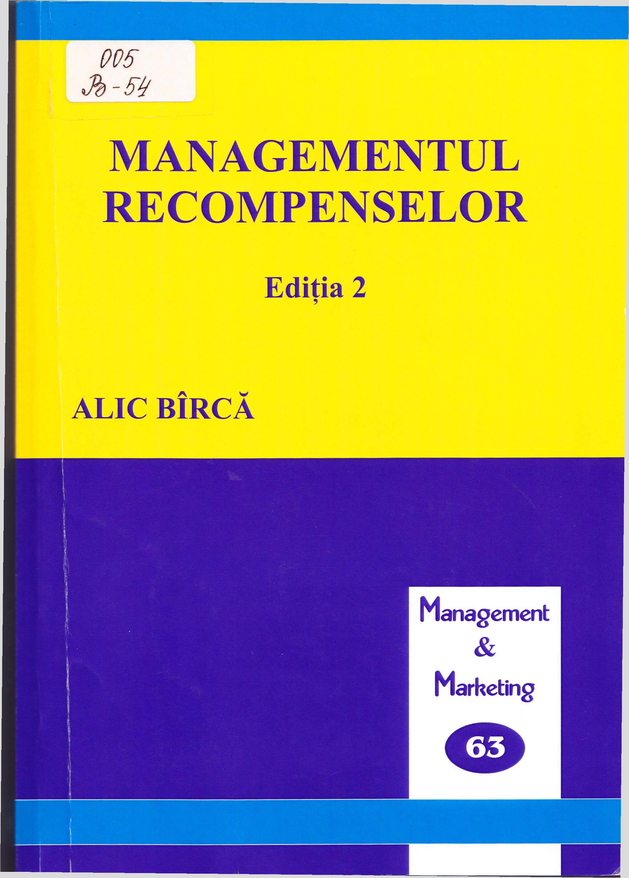 Managementul recompenselor: Manual.